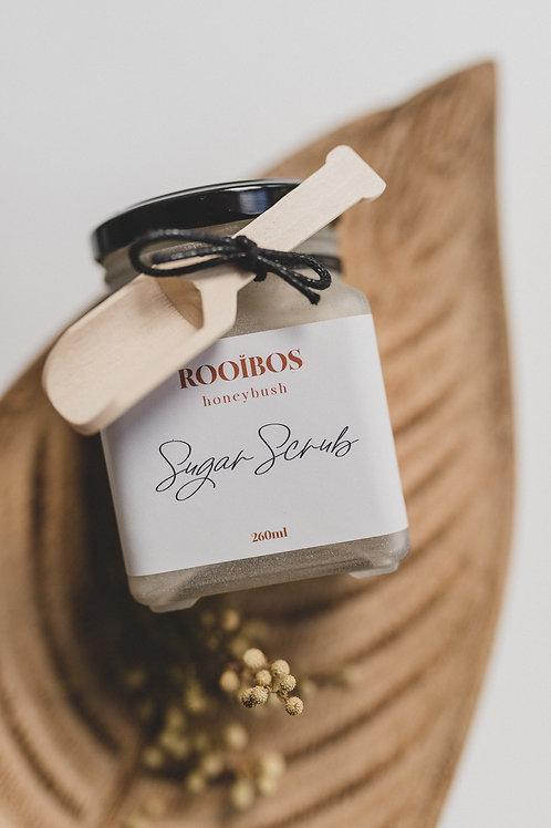 Rooibos Honeybush Sugar Scrub 260ml