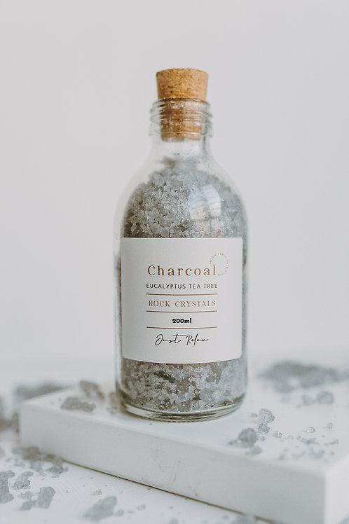 Eucalyptus Charcoal Bath Crystals 260ml
