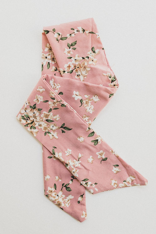 Pink Fleur Hair scarf
