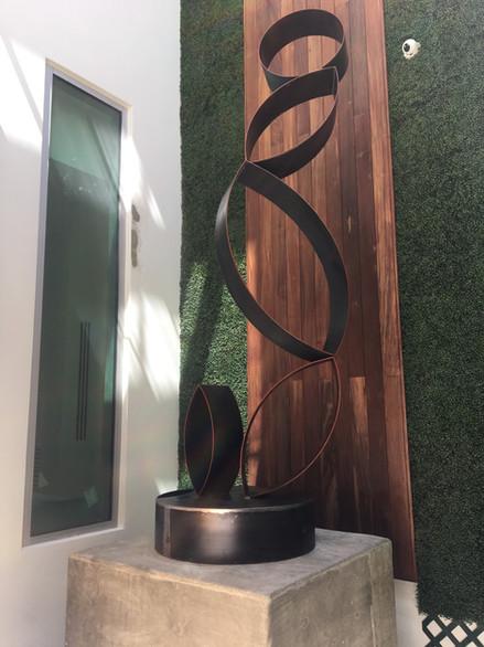 Custom Made Iron Sculpture