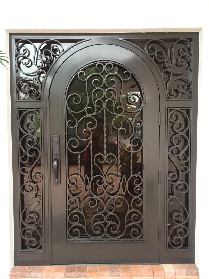 Aluminum Entry Door