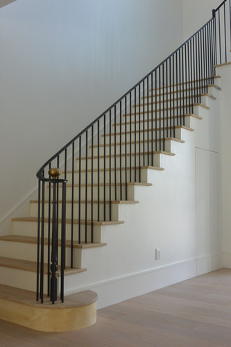 Interior Iron Staircase Railing