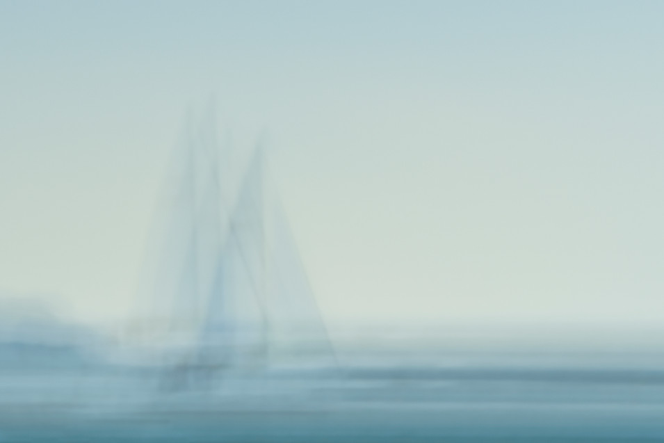 SAILING INTO THE BLUE