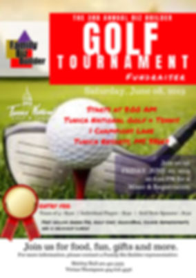 Golf Player Flyer-3rd Annual Golf Tourna