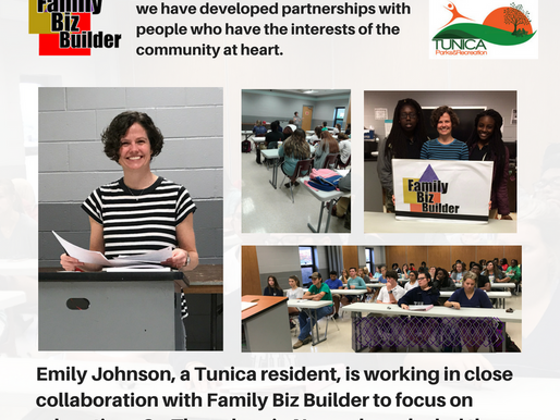 Emily Johnson, Community Partner, Hosts ACT Prep Workshop in Tunica