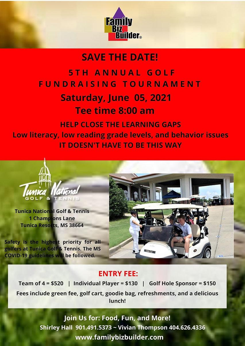 Player - FBB 5th Annual Golf Tournament