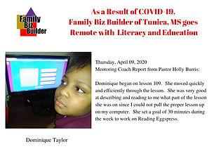 Week 3 - Dominique Taylor