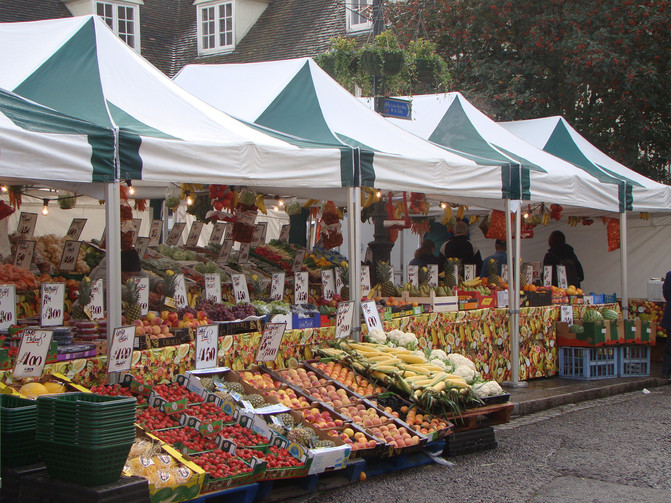 Farmers Markets in Hertfordshire