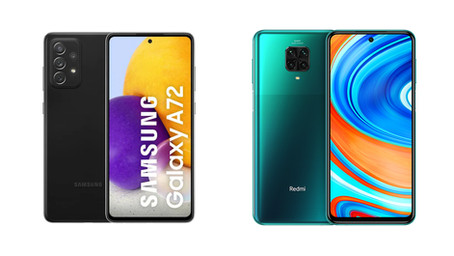 Samsung Galaxy A72 vs Xiaomi Redmi Note 9 Pro ¿Cuál comprar?