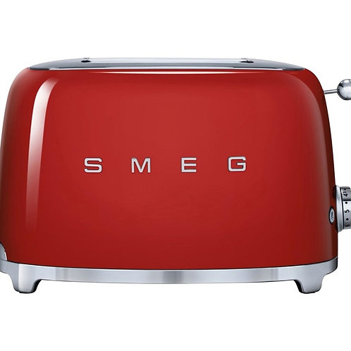 SMEG - Grille pain TSF01RDEU 2 tranches Rouge