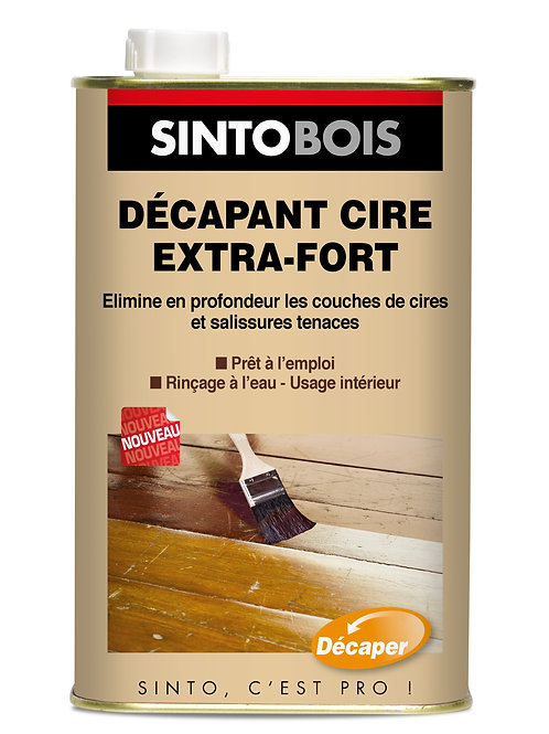 Décapant Cire Extra Fort