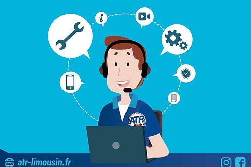 Assistance/Conseil technique Téléphonique ou Vidéo