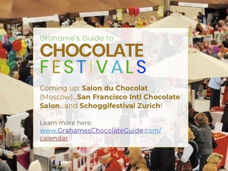 Upcoming Chocolate Festivals