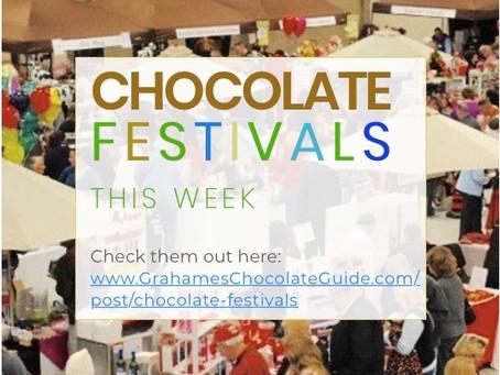 Chocolate Festivals This Week