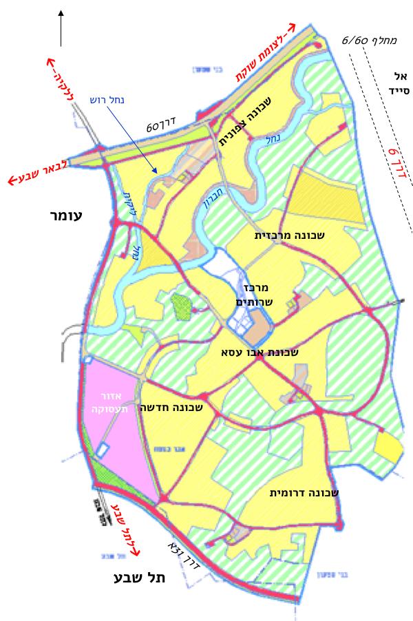 הסדרת הישובים הבדואים