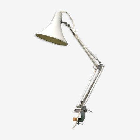 Lampe d'architecte blanche