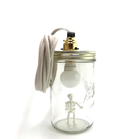 Le Squelette (blanc phosphorescent ou couleur))