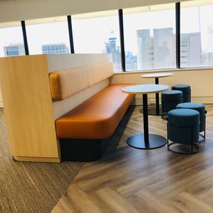 Sydney office- Custom bench seating