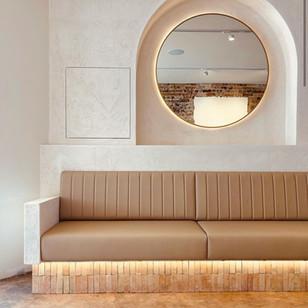 Jack Gray Cafe- Custom eight meter long bench seat