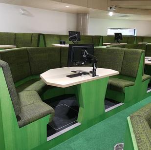 Newcastle University- Custom seating