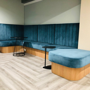 Sydney Office- Custom banquette seating