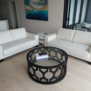 Residential client- Reupholstered lounges
