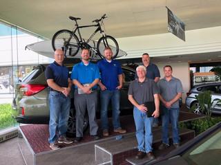 NSBSL Sustainability Team Brainstorms with Subaru's Zero Landfill Plant