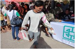 VICTO Deliver Relief to Iloilo