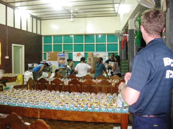 VICTO National conducted relief missions to provide relief goods to affiliated c