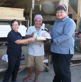 Deliver Relief to Northern Cebu