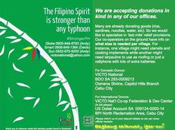 Help Yolanda Typhoon Victims