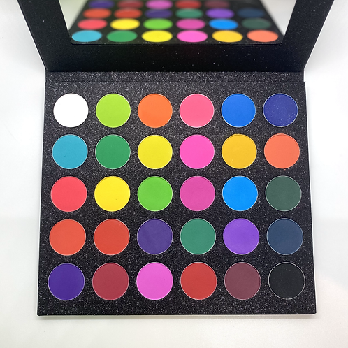 The Nuclear Rainbow Eyeshadow Palette
