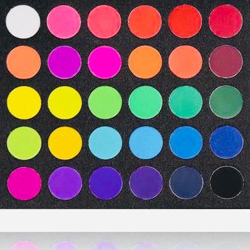 The Nuclear Rainbow Eyeshadow Palette