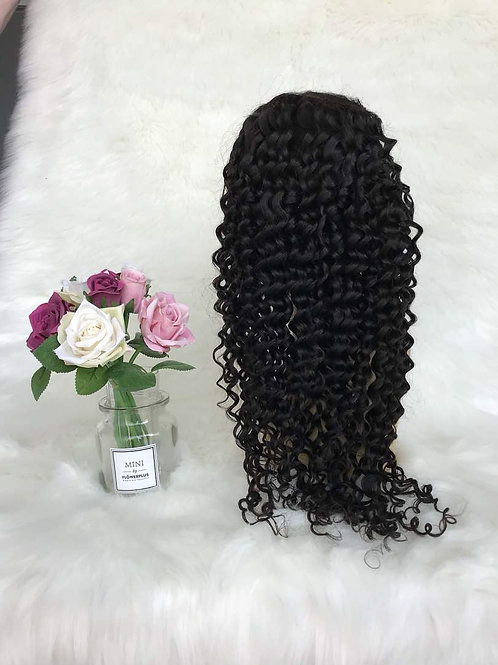 Italy Curly Frontal Wig