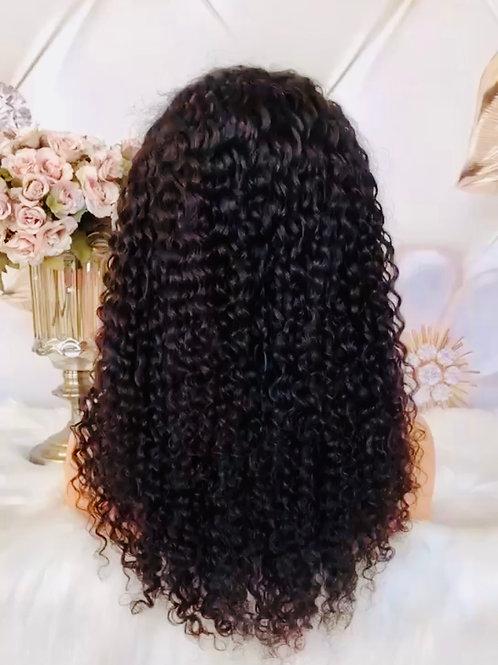 Burmese Curly Frontal Wig