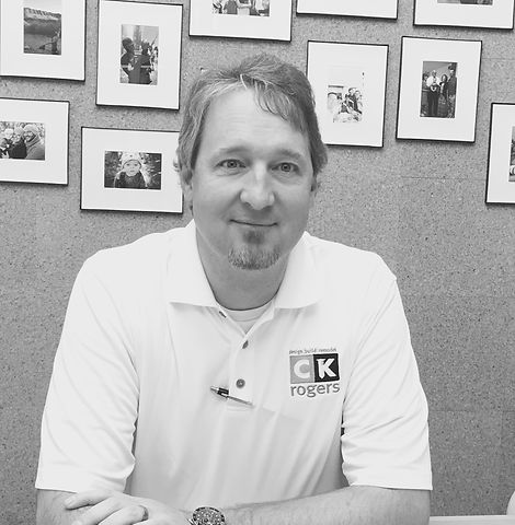 Clint Rogers, owner of CK Rogers Home builder
