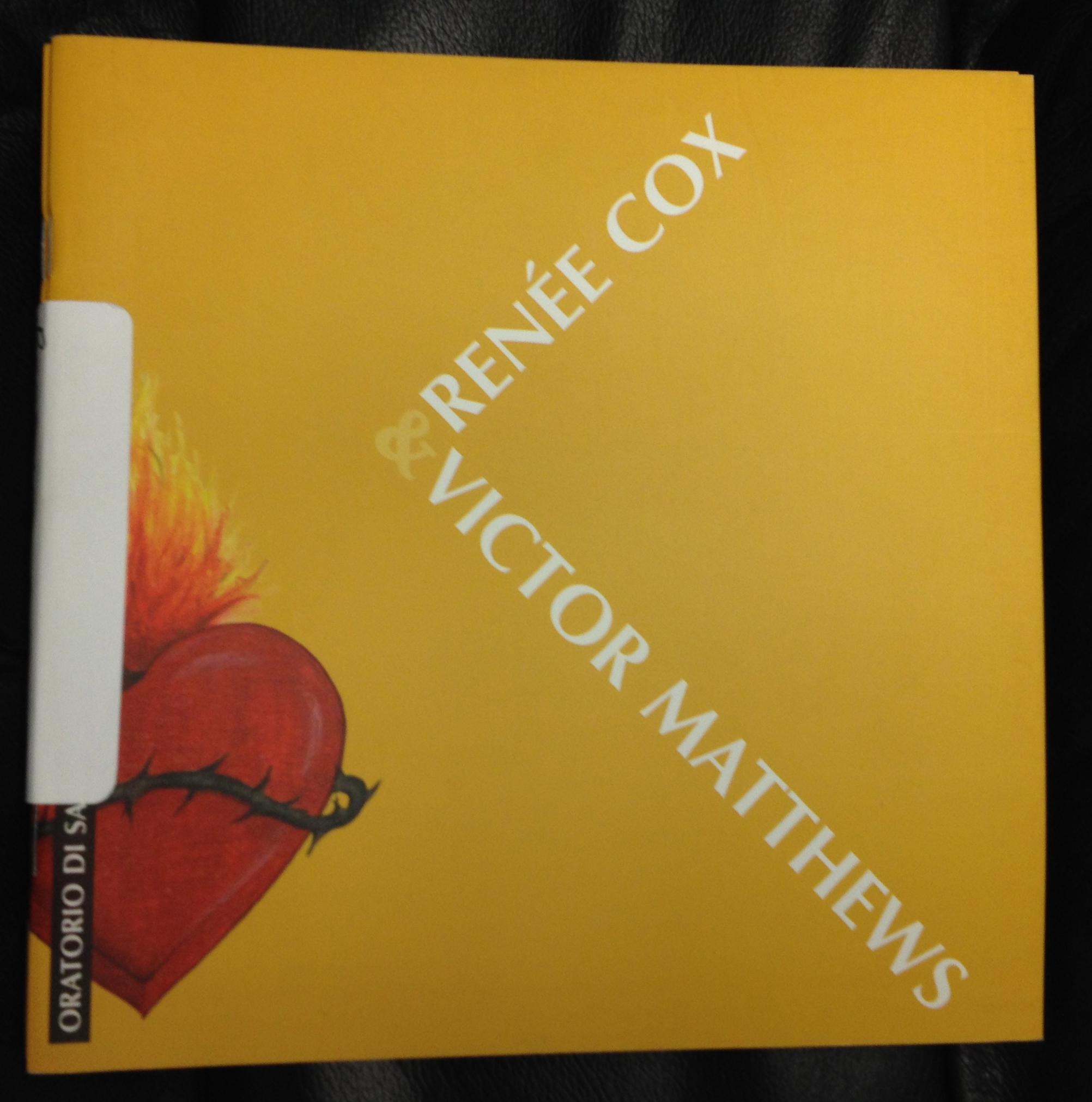 PUBLICATIONS | renee-cox