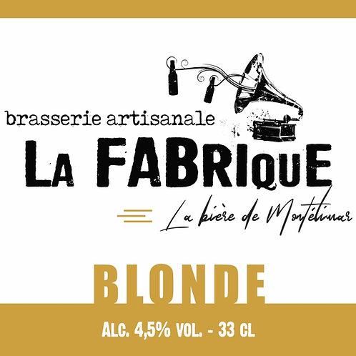Bouteille 33cl Blonde