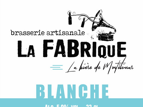Bouteille 33cl Blanche