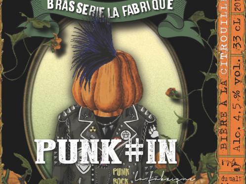 Bouteille 33cl Punk#in (Citrouille)