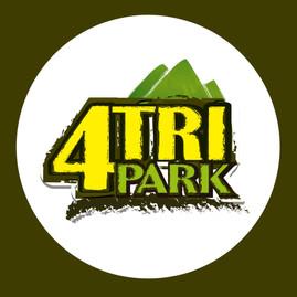 Continuacion del logo 4tri Tours a 4tri Park