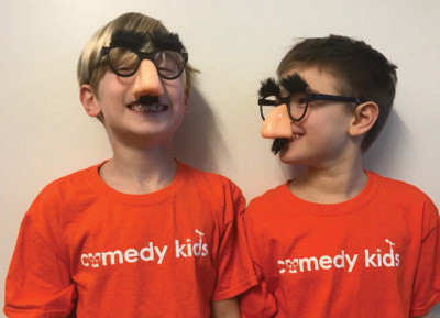 Comedy Kids, Chappaqua Honored at No Laughing Matter