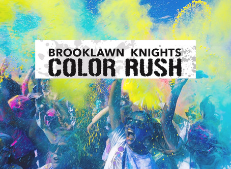 Brooklawn Middle School Announces 2nd Annual Color Run to Take Place on June 6th, 2020