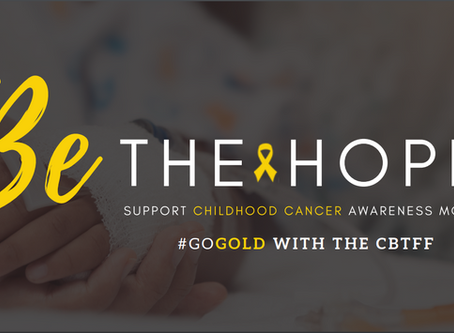 Be the Hope. Go Gold this September!
