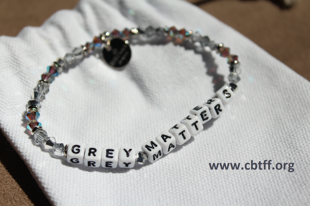 Little Words Project And The Children S Brain Tumor Family Foundation Cbtff Have Designed A Grey Matters Bracelet So That Those Curly Battling