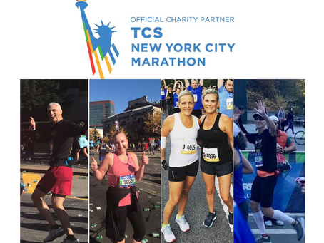 CBTFF Team Moves Us at the 2018 TCSNYC Marathon