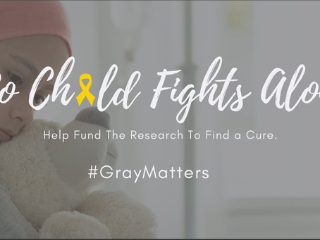 #GrayMatters - May is Brain Tumor Awareness Month