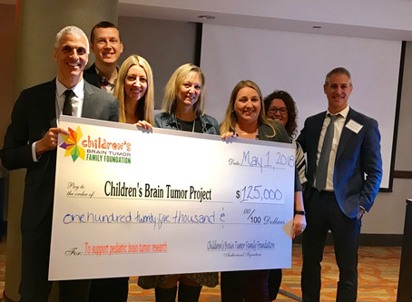 CBTFF Makes $125,000 Contribution to the Children's Brain Tumor Project at Annual Family Council Mee