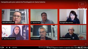 Campanha pelo piso salarial da/o Psicóloga/o em Santa Catarina