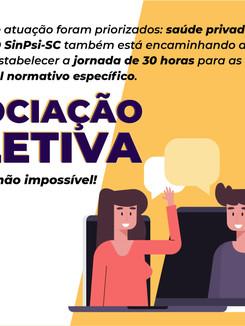 SinPsi-SC inicia Negociações Coletivas